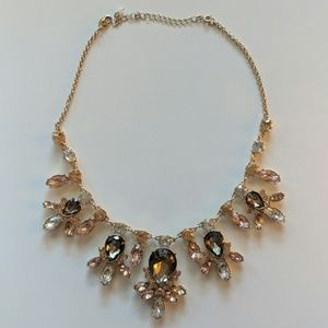 Gold and rose gold chunky necklace